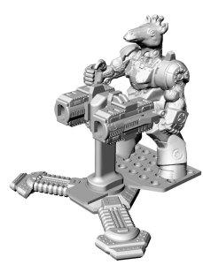 3D-render-gun