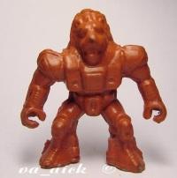 Робот-лев кустарный из резины