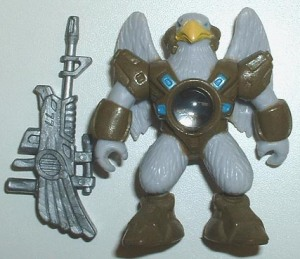 Laserbeasts Blue Eagle #77