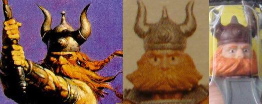 Илл. 2. Фрагмент работы Фрэнка Фразетты и персонаж Хак из серии