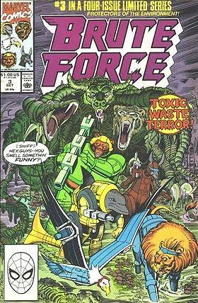 Обложка комикса Brute Force