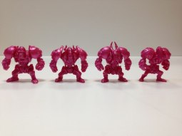 Розовые панцероны