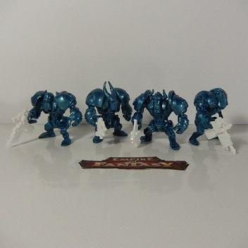 Синие панцероны