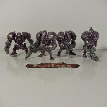 Серо-фиолетовые панцероны