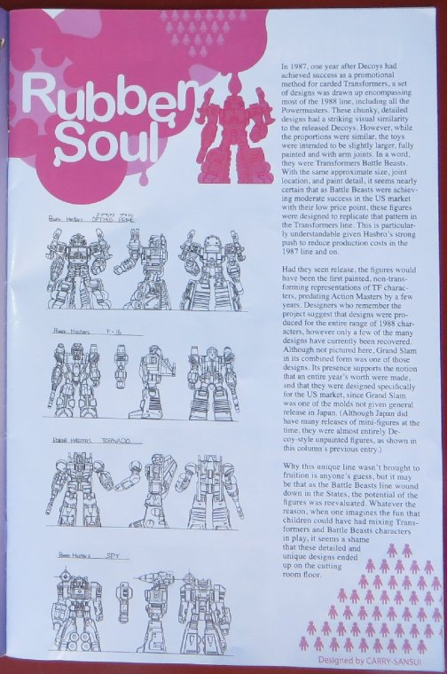 Transformers Collectors Club №67 (февраль-март 2016, стр. 3)