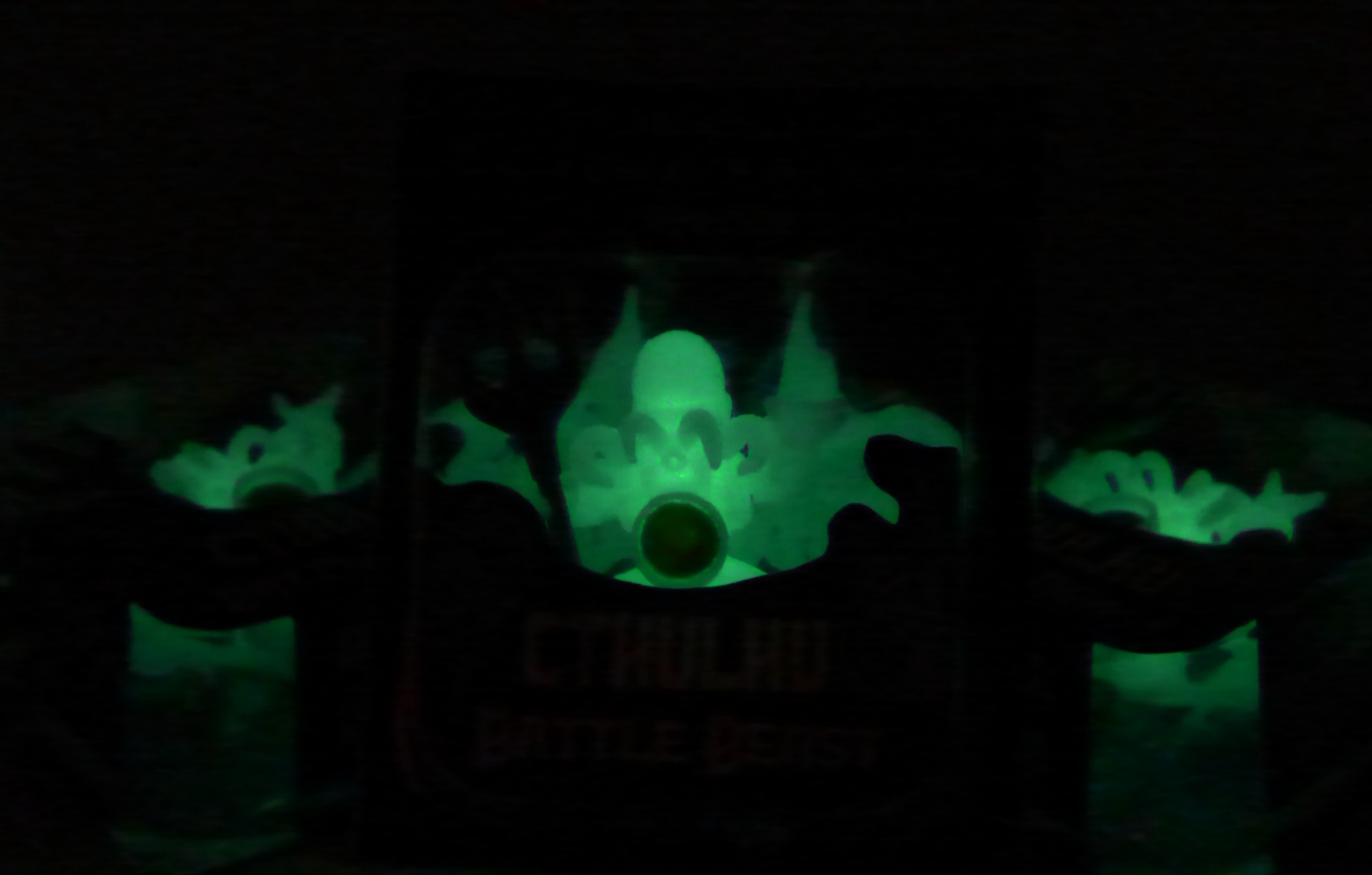 Cthulhu glowing in the dark